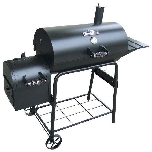 Large Smoker Outdoor Barbecue Barrel