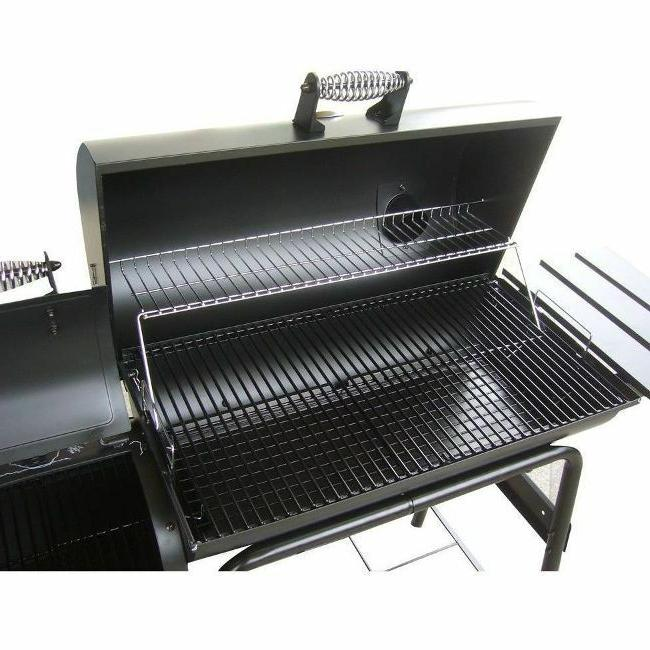 Large Charcoal Outdoor Portable Barrel BBQ