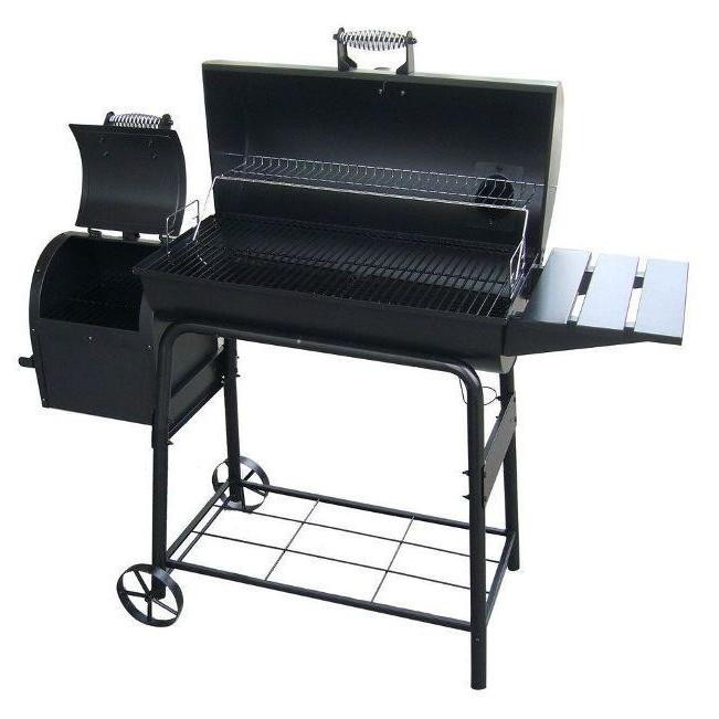 Large Smoker Outdoor Barrel BBQ Cooking