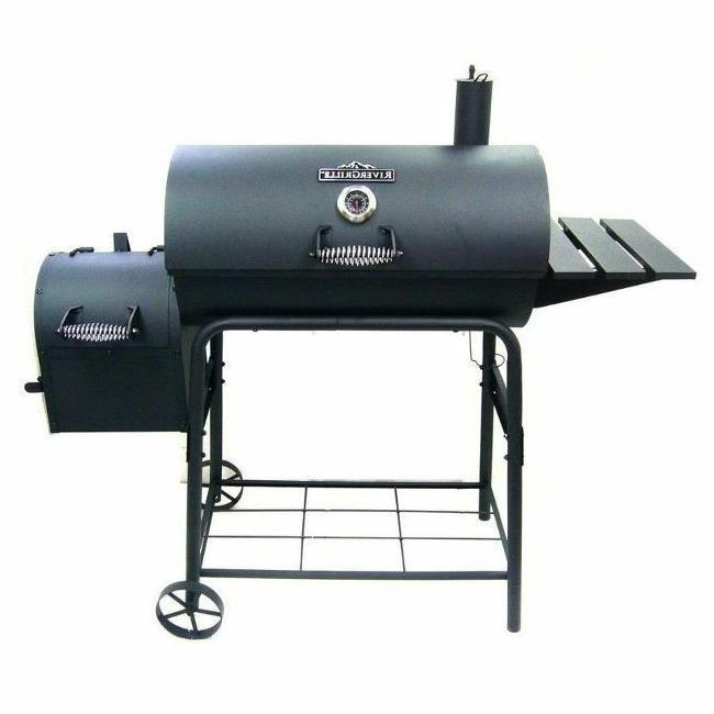 Large Charcoal Smoker Outdoor Barrel