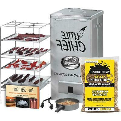 little chief top load vertical electric smoker