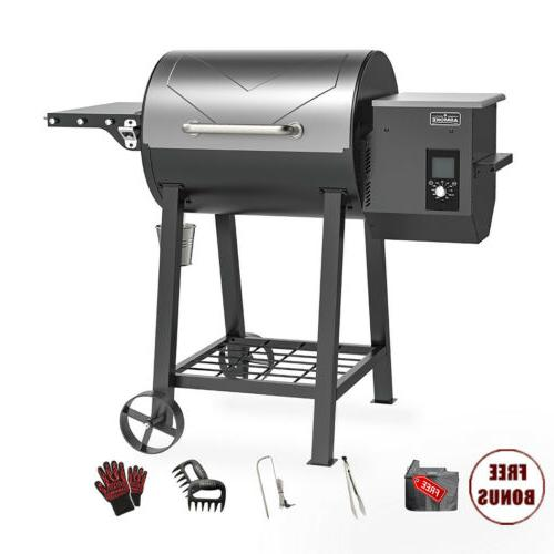 ASMOKE MAX. Pellet Grill In 1 BBQ Smoker sq. in. Control