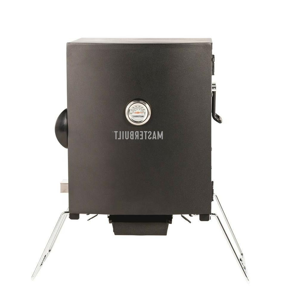 Masterbuilt MB20073716 Patio-2-Portable Smoker, Black