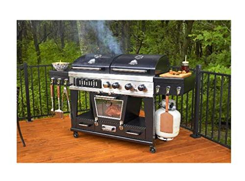 Pit 4-in-1 LP Smoker
