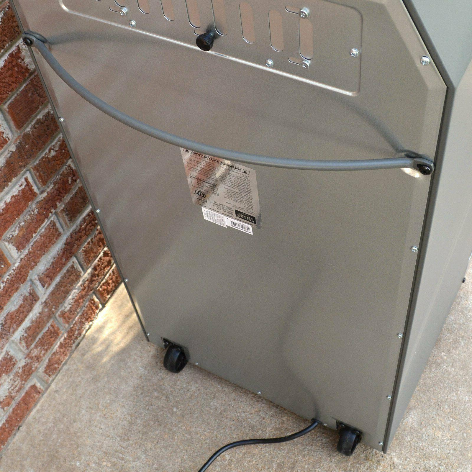 New in. Smoker with Stand Red