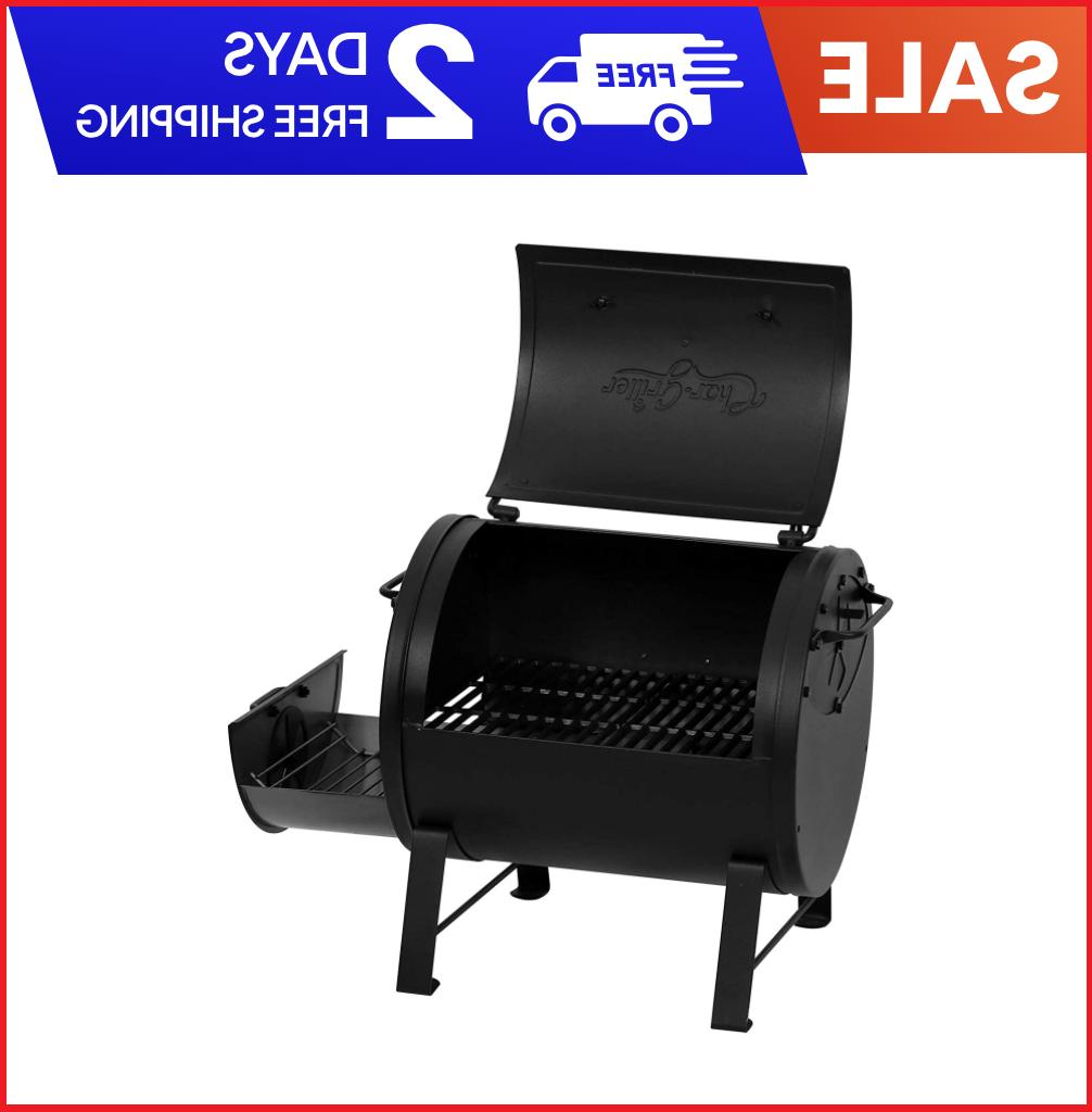 NEW Char-Griller Fire Box Grill, Black