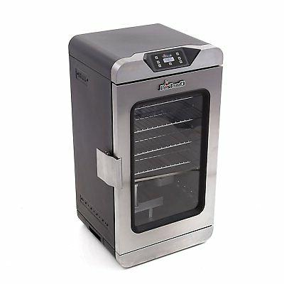 new deluxe digital electric smoker 725 square