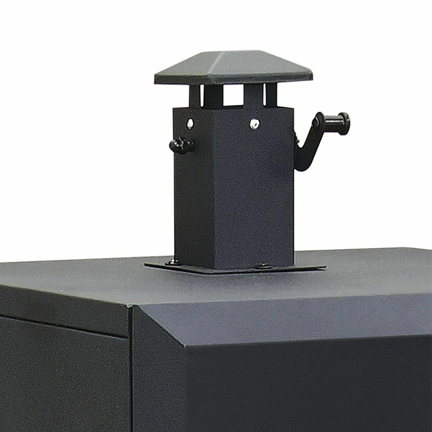 NEW Vertical Charcoal Smoker BBQ