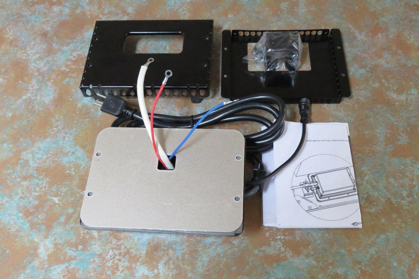 new power box assembly for electric smoker