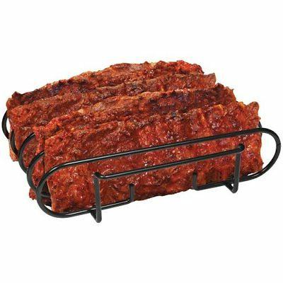 Sorbus Non-Stick Rib - Racks Grilling Barbecuing