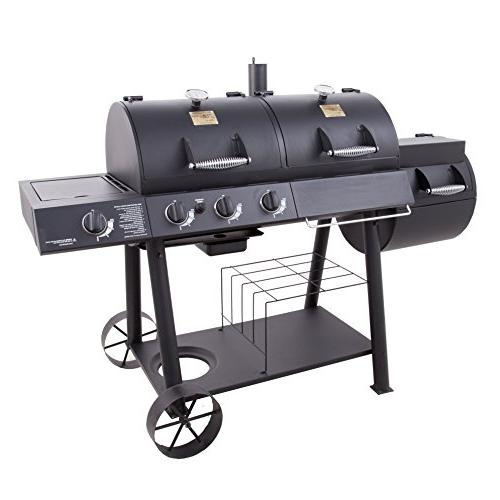 Oklahoma Joe's Gas/Smoker Combo