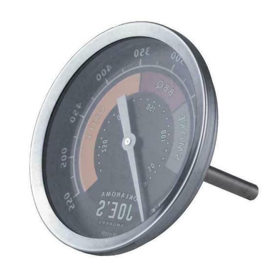 Oklahoma Round Thermometer