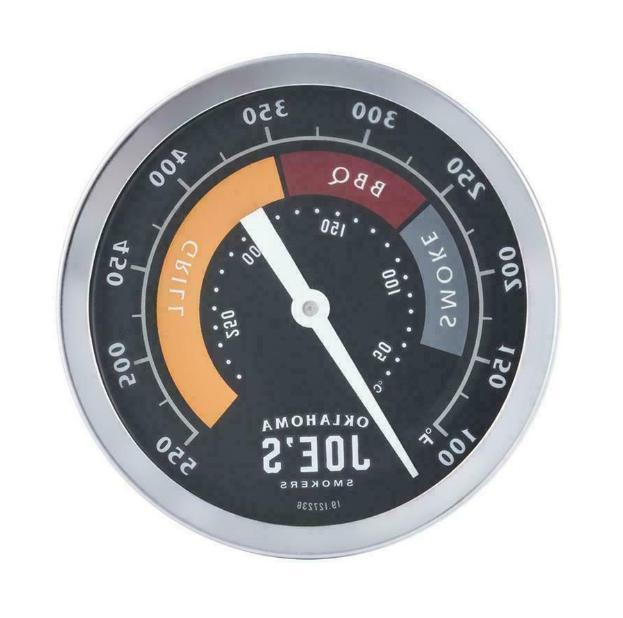 oklahoma joe s round grill thermometer smokers
