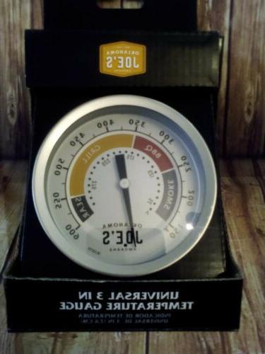 Oklahoma Joe's Smokers Grill BBQ Thermometer,