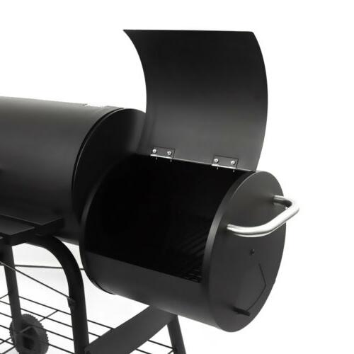 Outdoor BBQ Grill Charcoal Barbecue Pit Meat