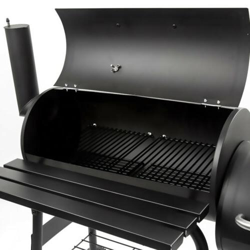Outdoor BBQ Grill Charcoal Meat