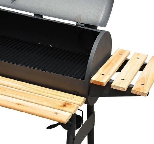 Outsunny Backyard Charcoal BBQ Grill / Combo w/