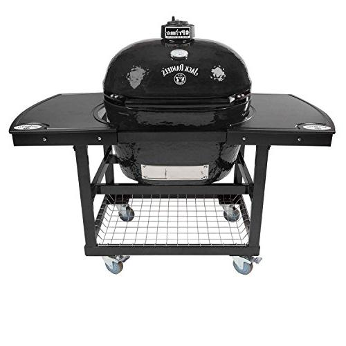 oval 400 ceramic smoker grill