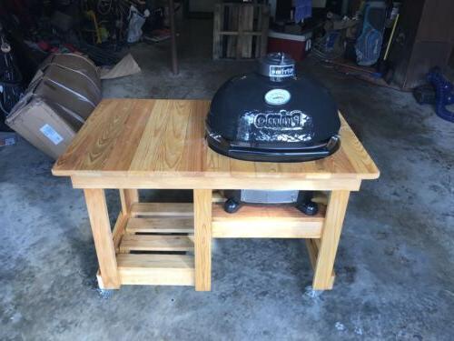 oval jr 200 ceramic bbq smoker grill