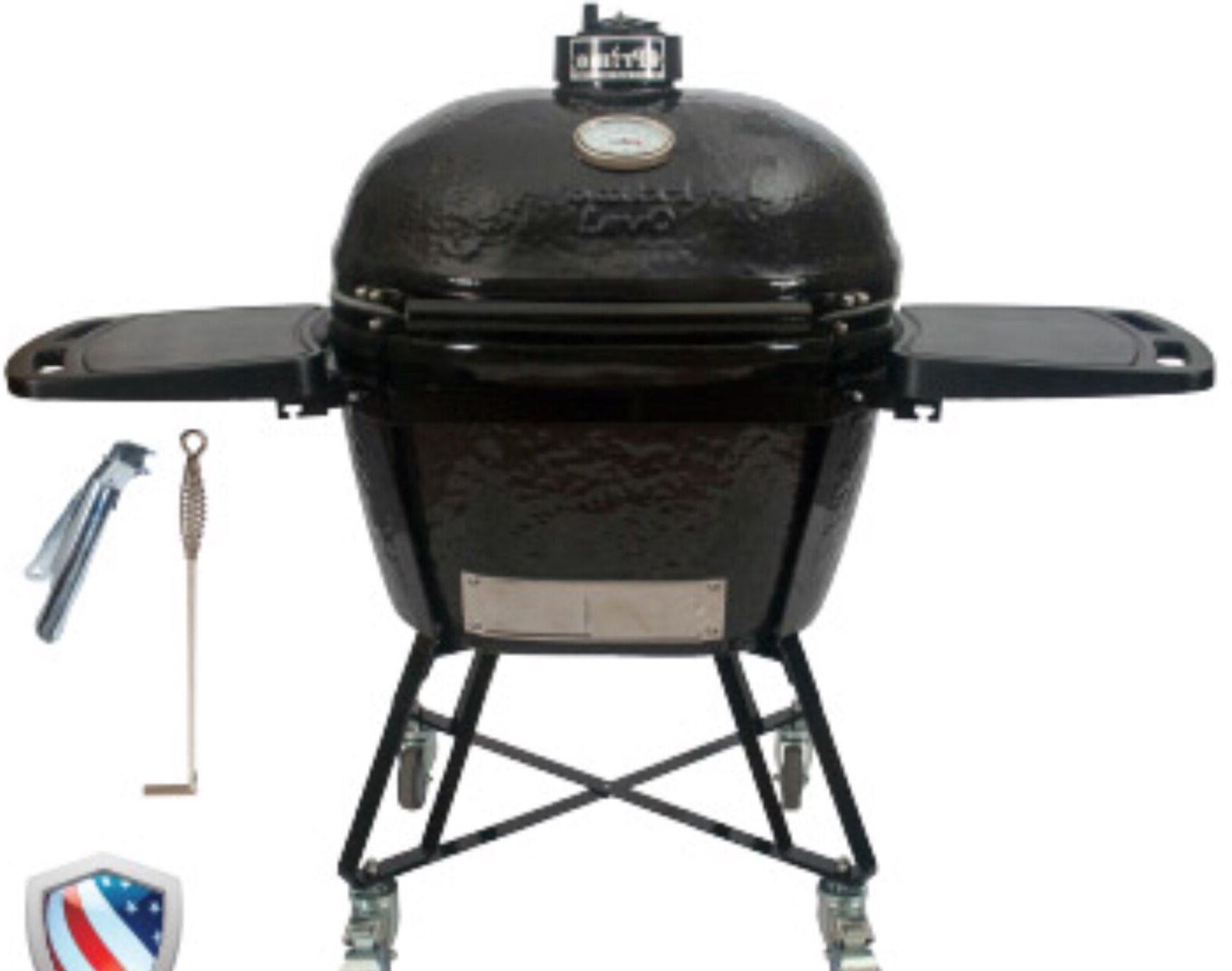 PRIMO OVAL JR 200 ALL-IN-ONE CERAMIC GRILL #PRM7400 WE WILL
