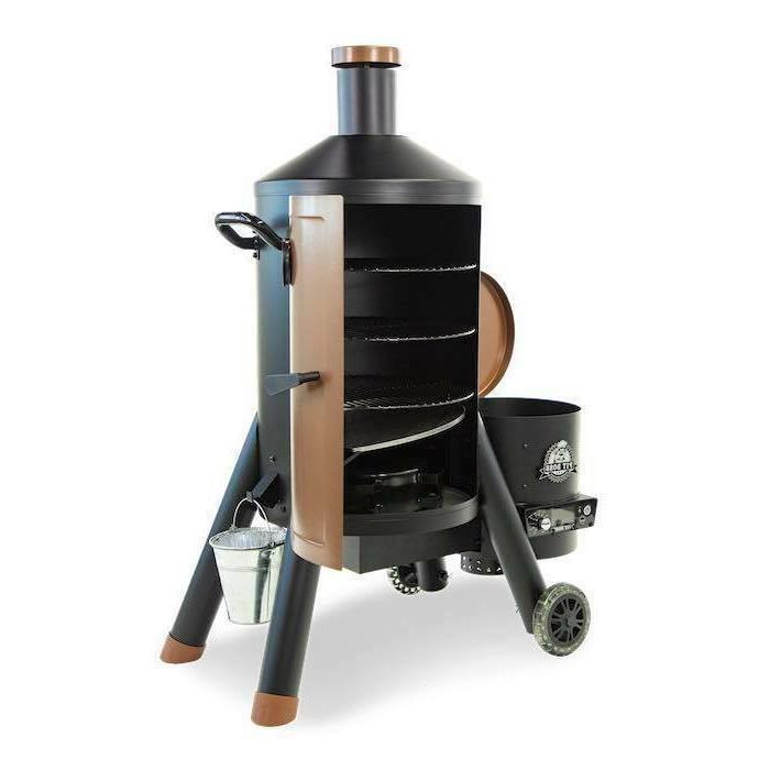 Pit Still Pellet Smoker BBQ - NEW!