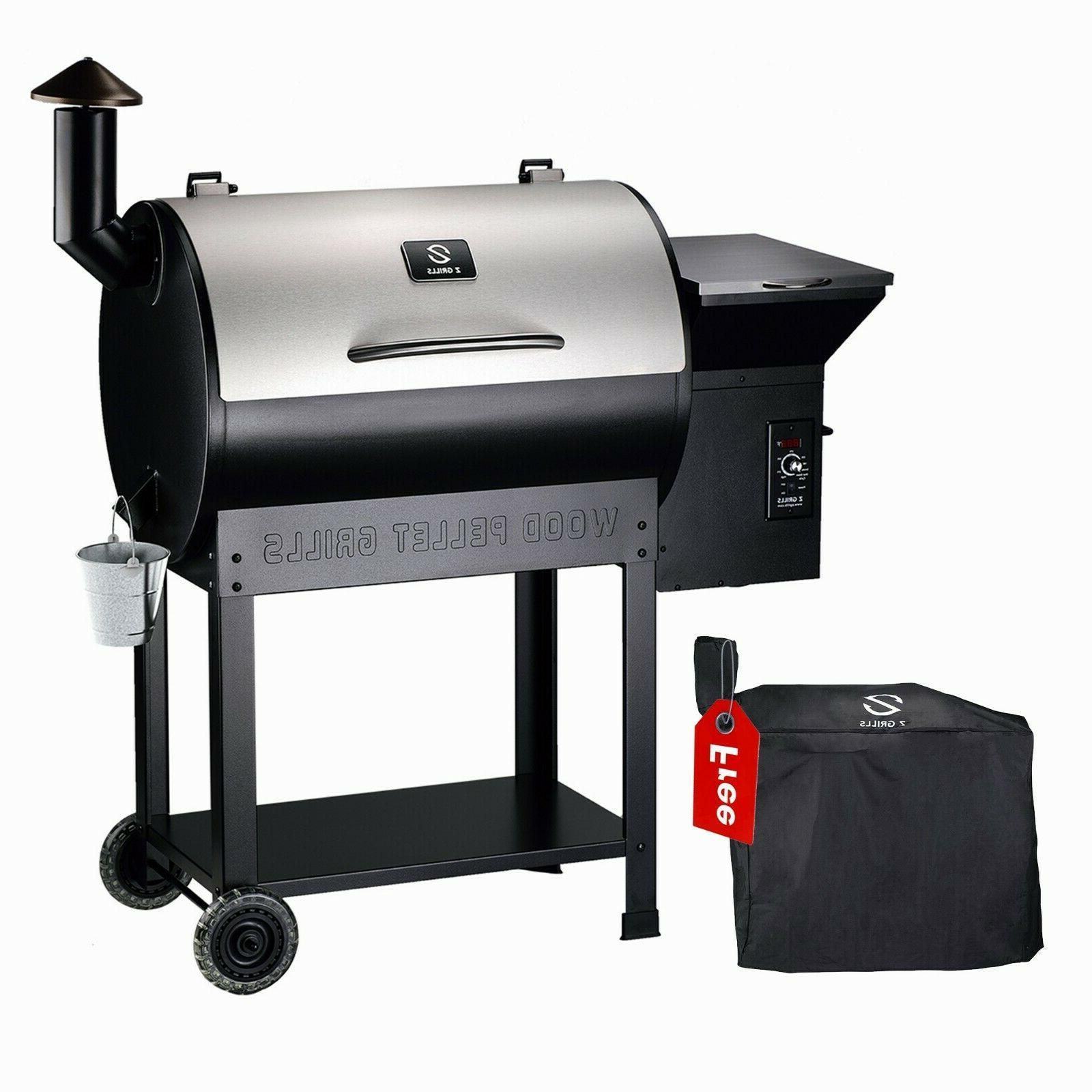 Z Grills Pellet Grill Outdoor Bbq Smoker 2019