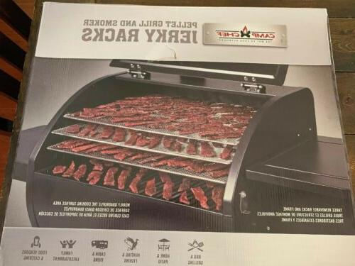 pellet grill and smoker jerky rack 24