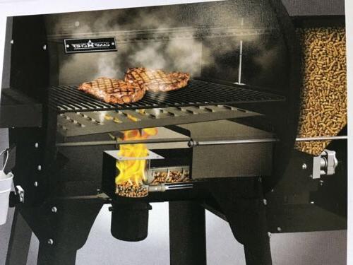 pg24s pellet grill smoker deluxe