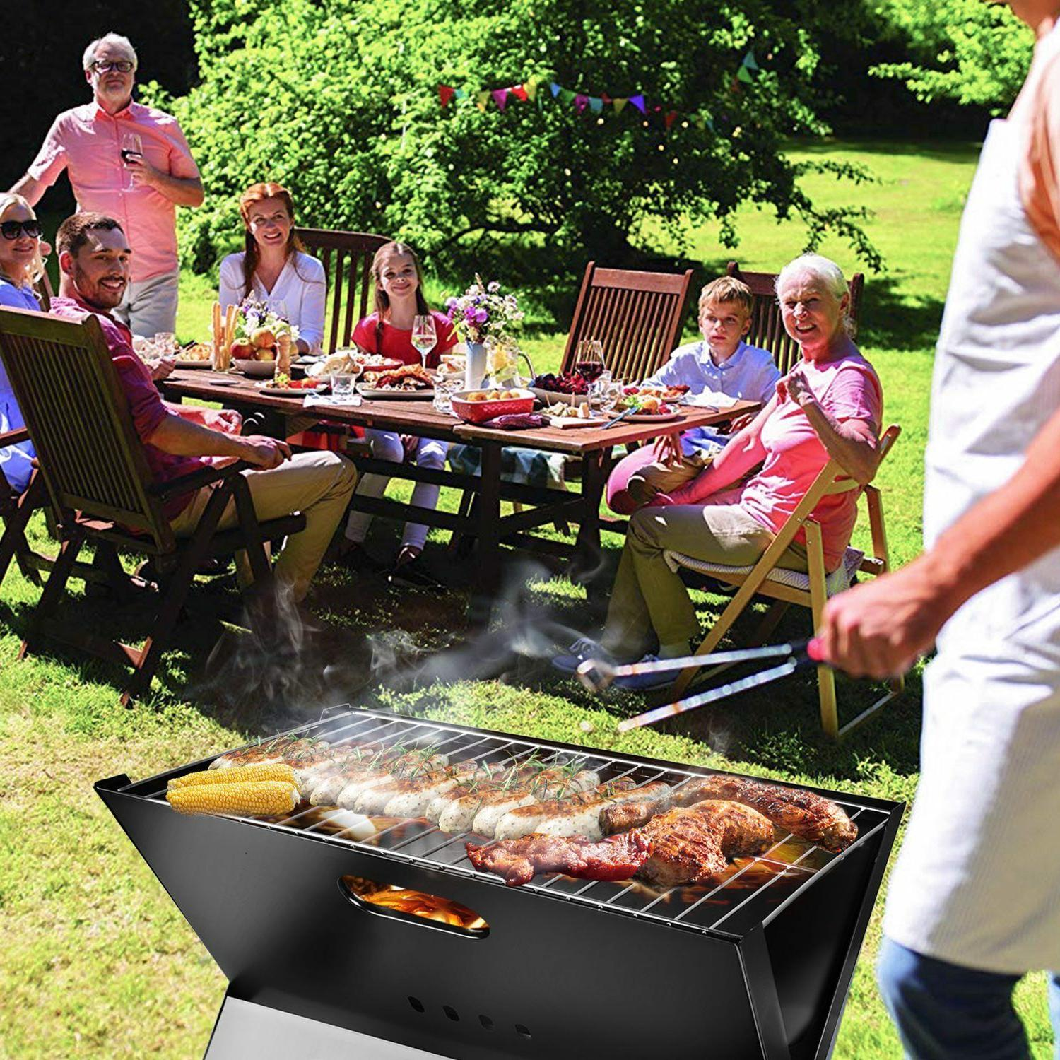 BBQ Outdoor Cooker Smoker