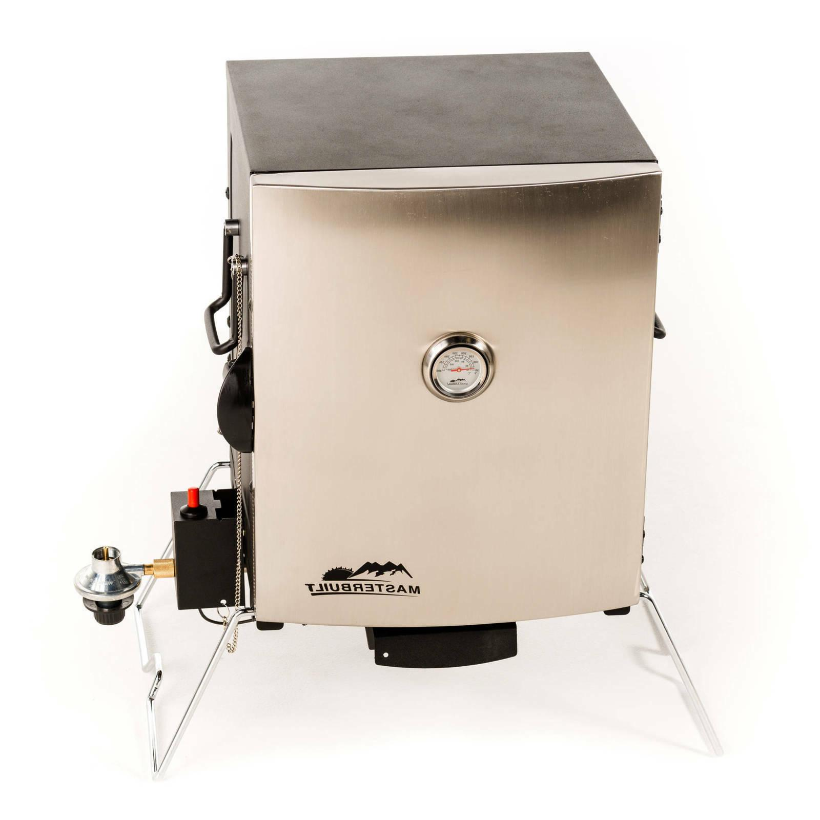 portable propane smoker stainless steel