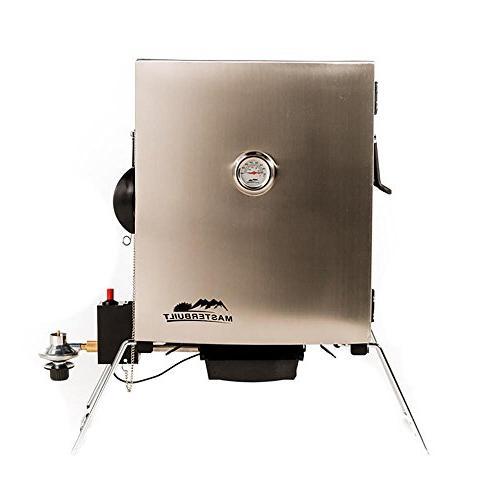 portable propane smoker stainless steel