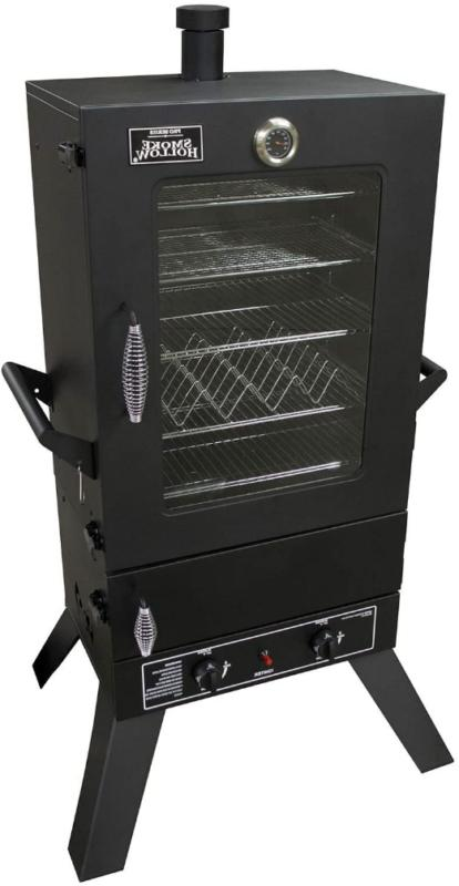 Propane Gas Smoker Stove Masterbuilt Vertical Grill Bbq Meat