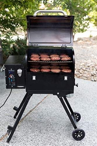 Portable Pellet Grill Stainless - Smoke - Grill