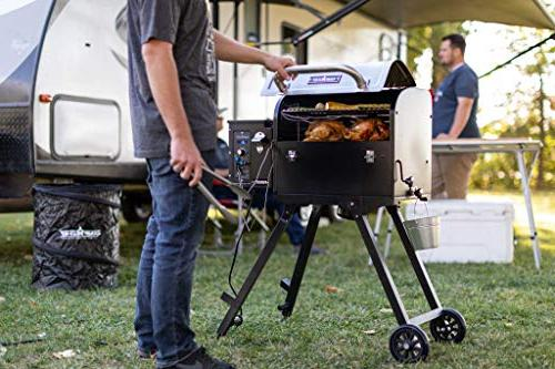 Camp Portable Pellet Grill Stainless Smoke - Grill Technology