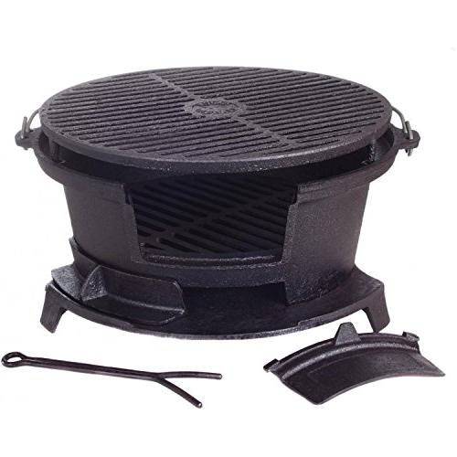 Cajun Round Seasoned Grill Gl10447