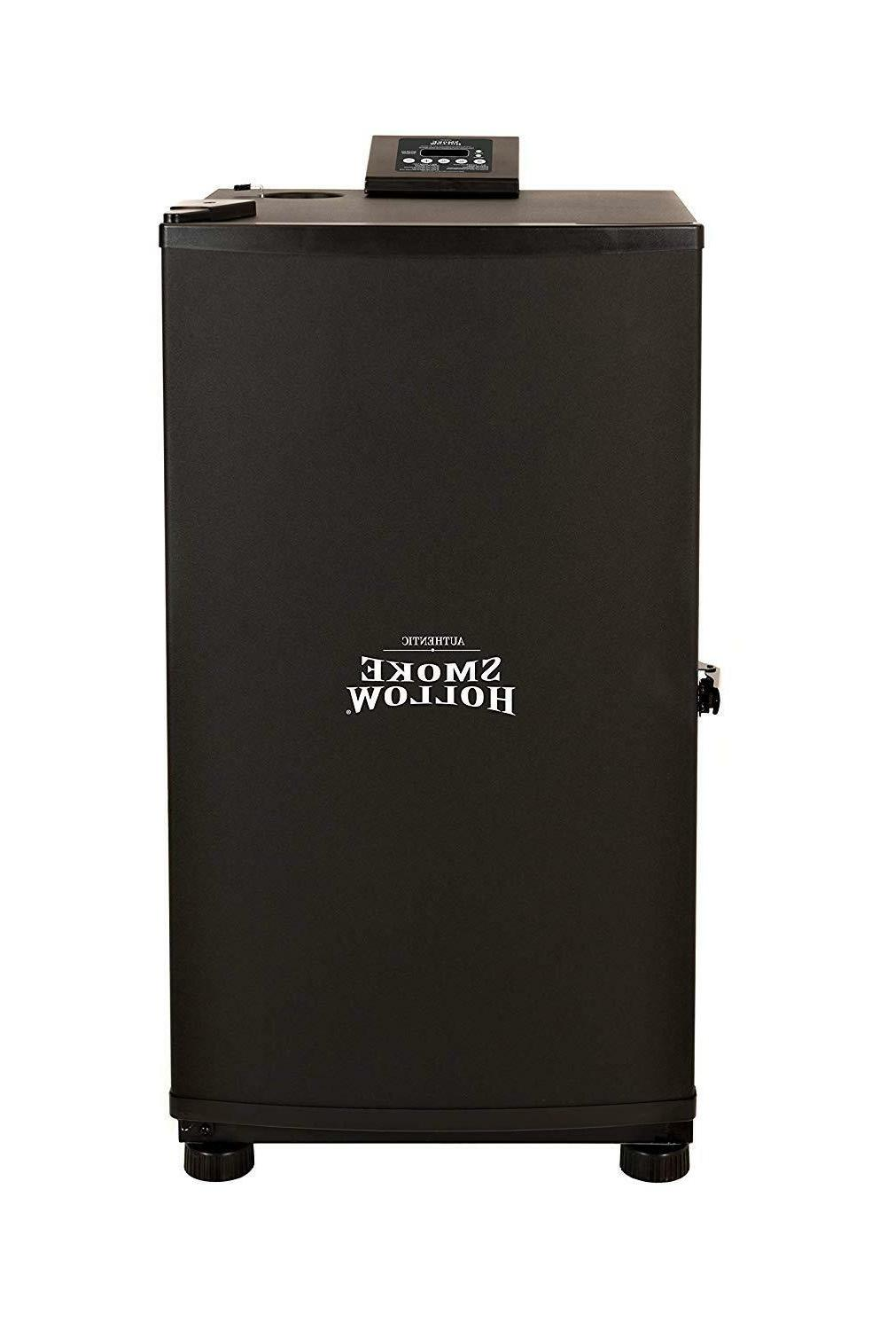 smoke hollow electric smoker digital panel controls