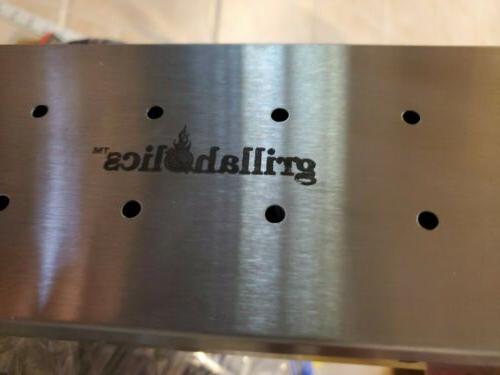 Grillaholics Smoker Heavy Wood Chip Smoking