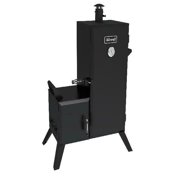 smoker grill vertical offset box outdoor kitchen