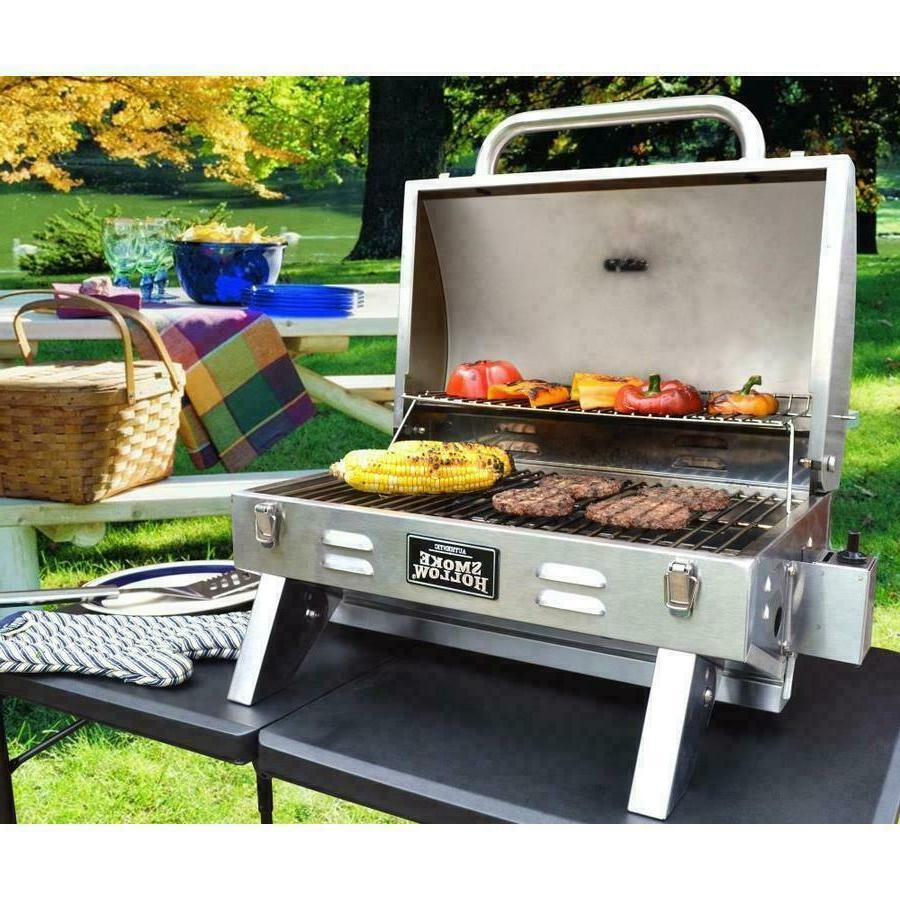 Smoke 1-Burner Outdoor BBQ Gas Grill