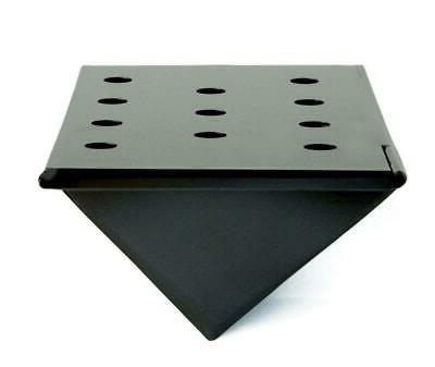 Charcoal Companion Stainless Steel V-Shape Smoker Box For Ga