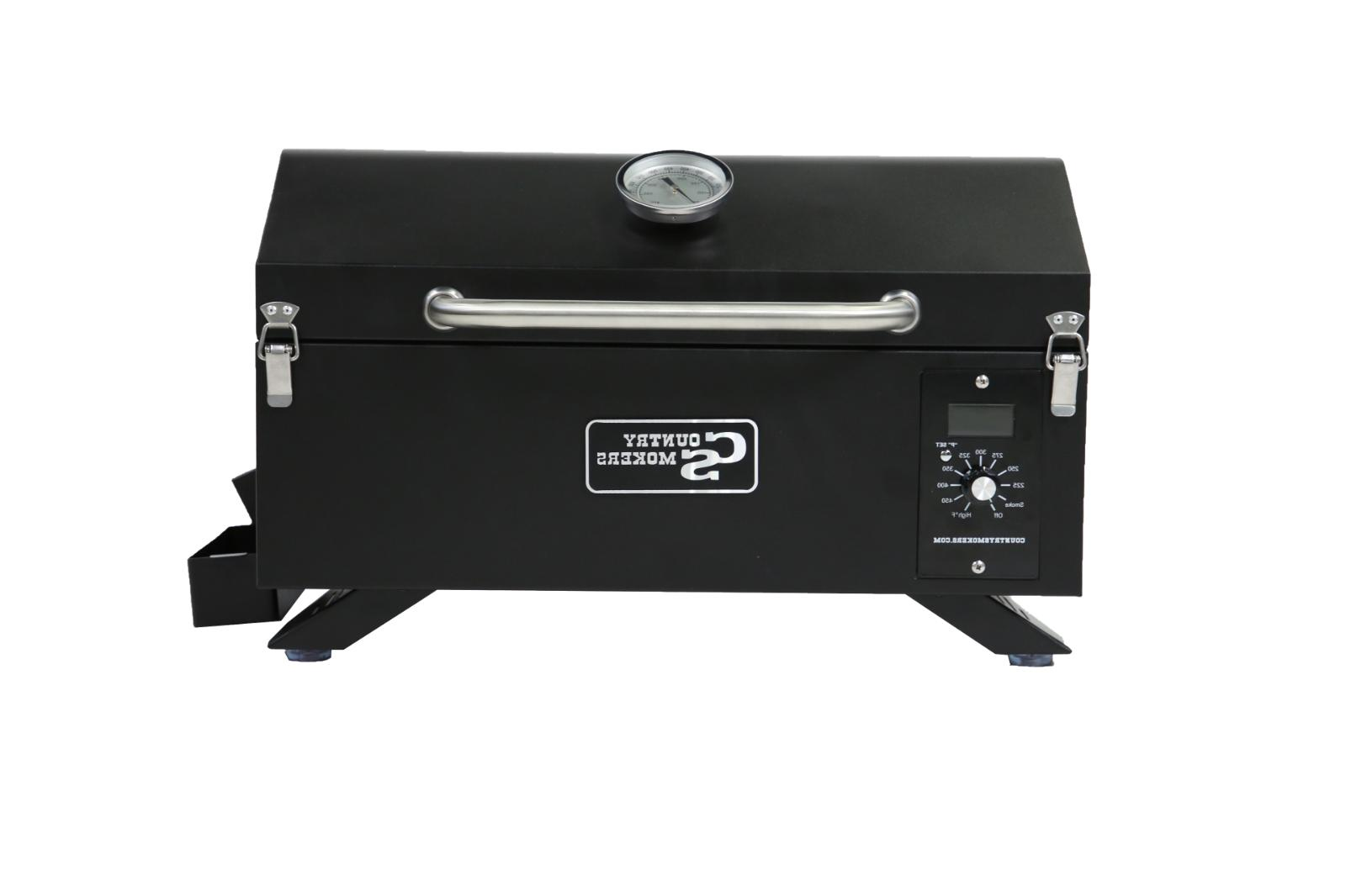 Country Smokers,The Traveler  Portable Wood Pellet Grill and