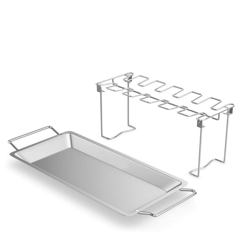 Tools Chicken Wing Leg Rack for Grill <font><b>Smoker</b></font> Oven Roaster in BBQ Safe