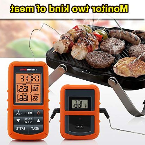 ThermoPro Digital Cooking Food Meat Thermometer with for Smoker BBQ Thermometer