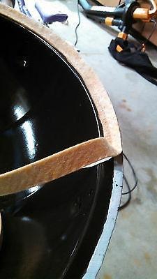 Ugly Drum Smoker Gasket Kit UDS lid door seal Nomex firebox