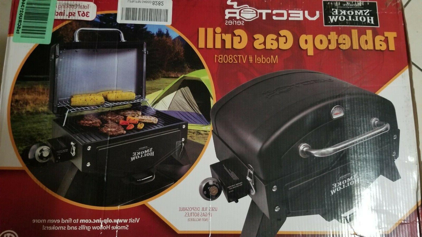 Smoke Tabletop Portable Grill