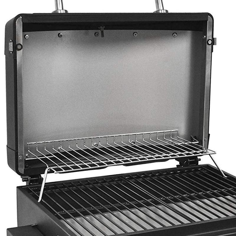 Smoke Tabletop 1-Burner Gas Grill
