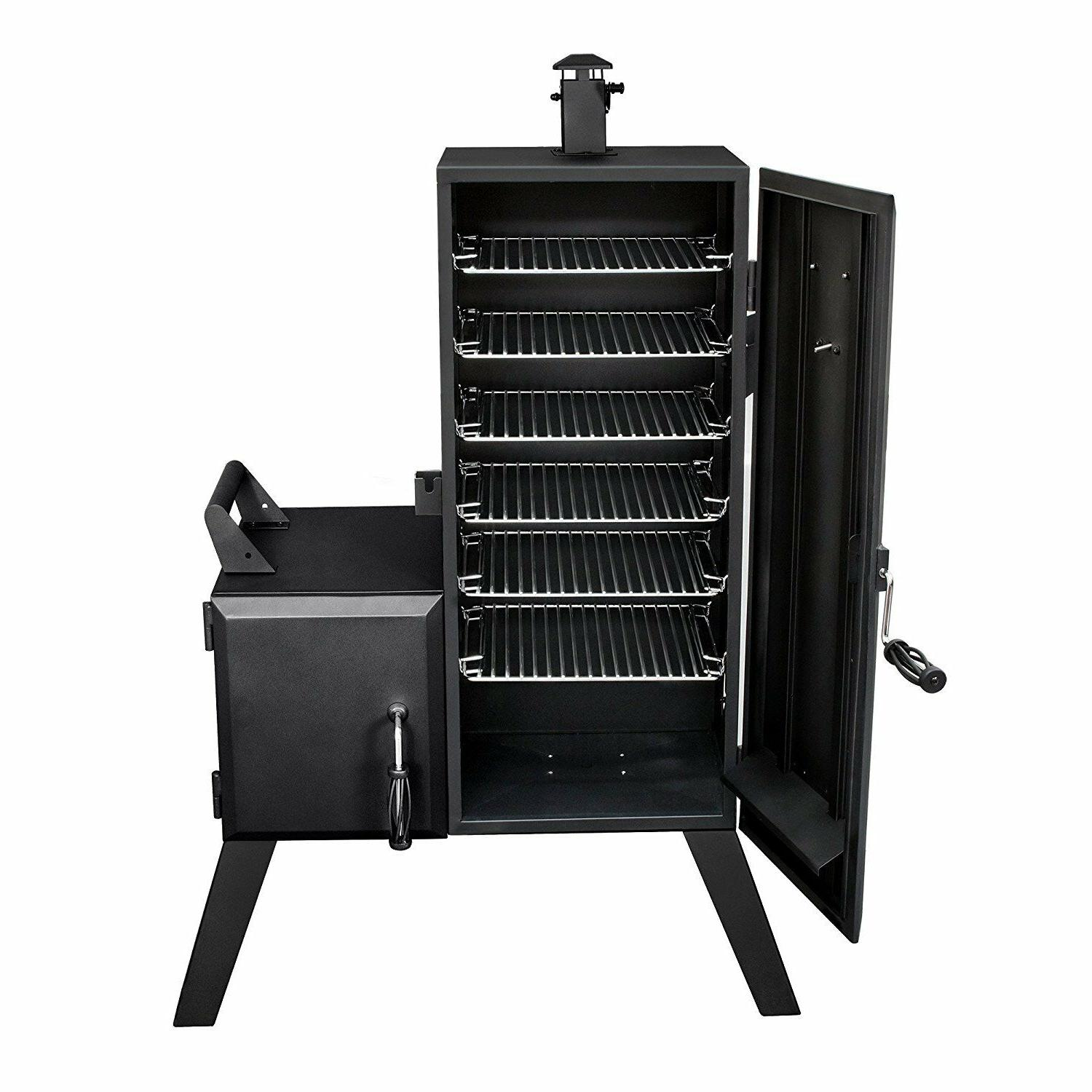 Charcoal Smoker Offset Outdoor BBQ Grill