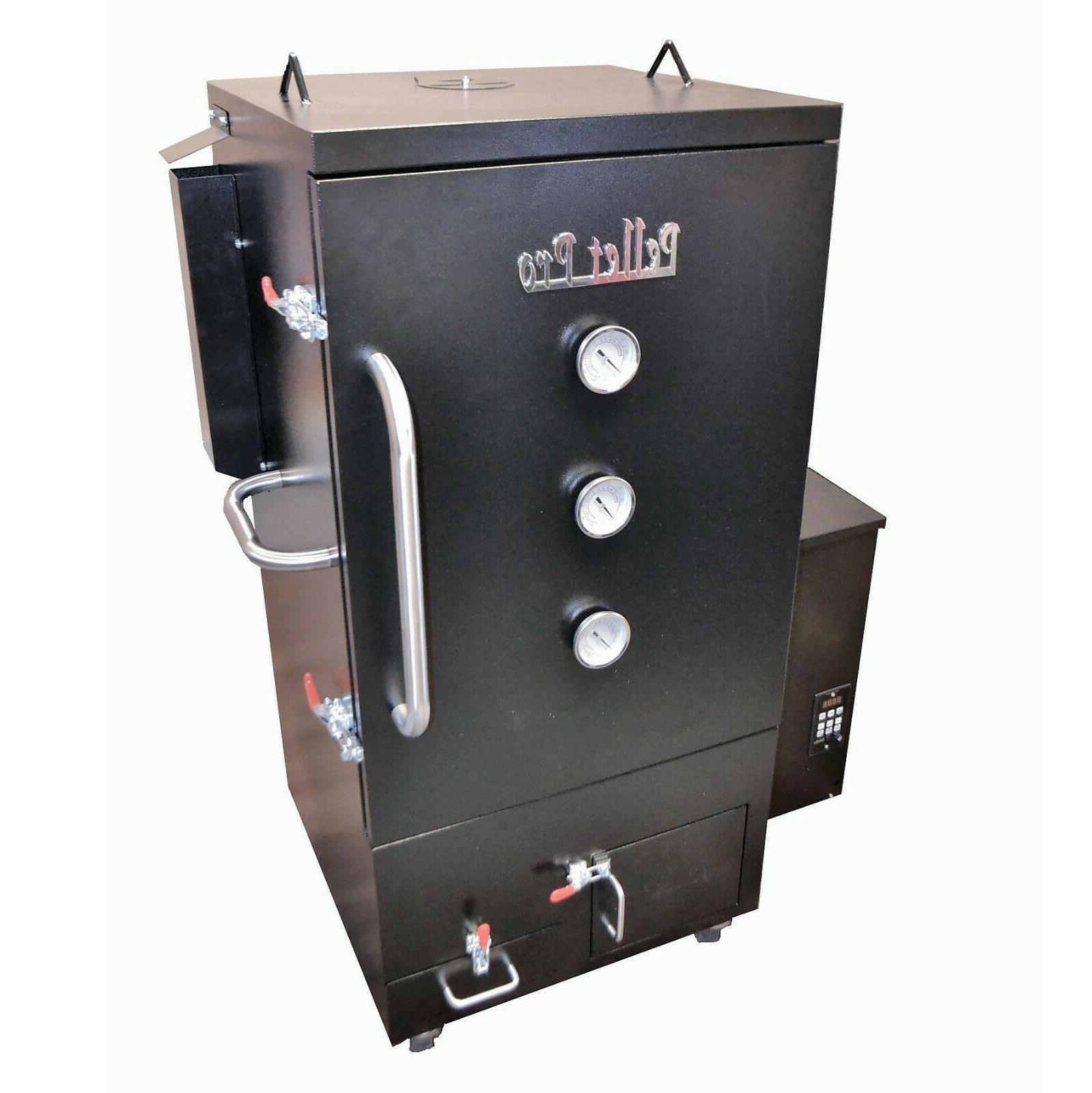 Pellet Pro® Vertical Wood Pellet Smoker 1st GEN, Lg 10cu ft