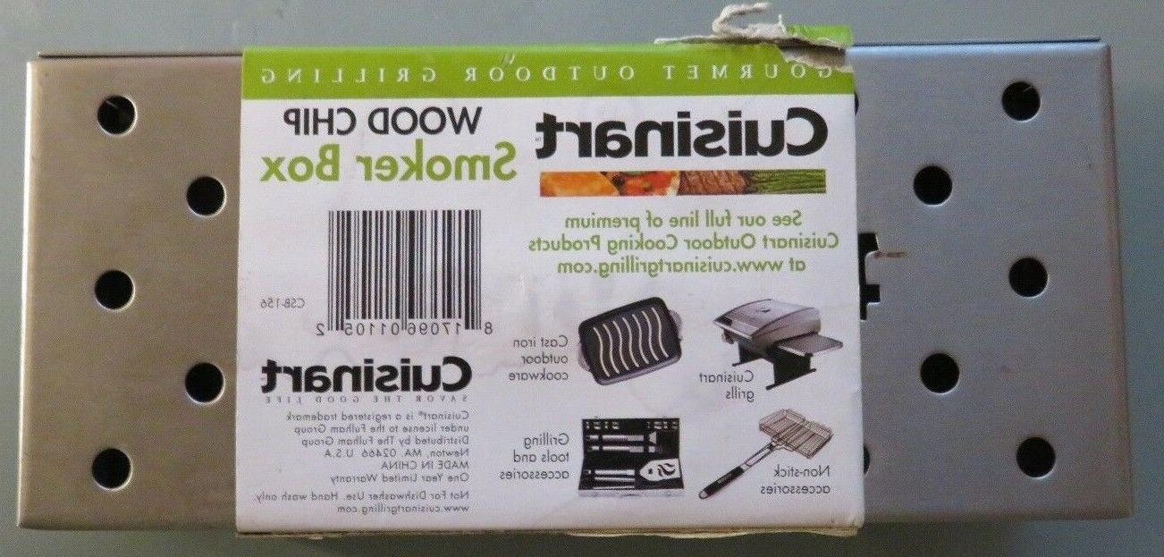 Cuisinart Wood Chip Smoker Box - Smoker Box