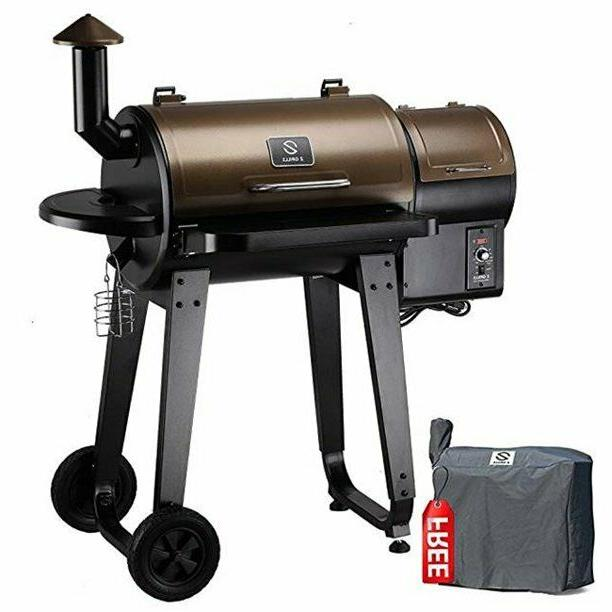 wood pellet barbecue grill and smoker
